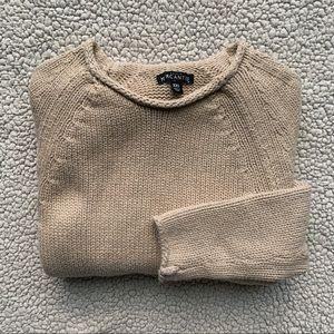 • J. Crew Tan Knit Sweater •